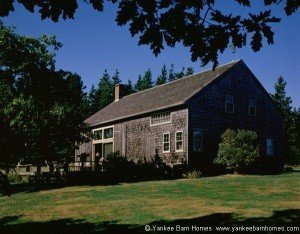 An older yankee Barn Home
