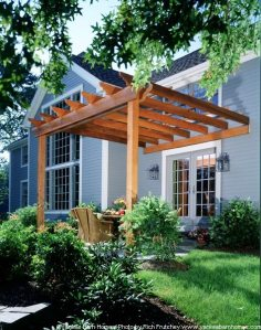Yankee Barn Homes Pergola