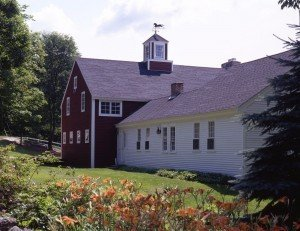 A beautiful post & beam barn home addition to an 18th Century cape.