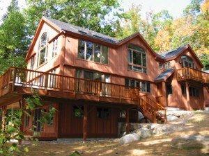 Yankee Barn Home- timber framebarn home