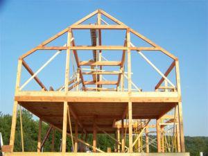 YBH post & beam frame