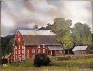 Robinson Farm Painting by Chip Evans