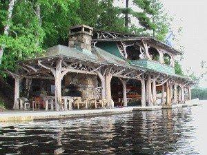 Boathouse at Topridge