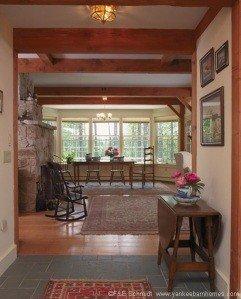 Interior Coastal Timber Frame