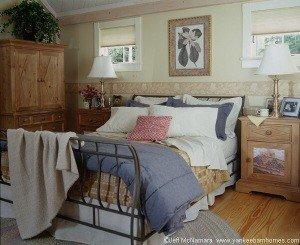 Former master bedroom decor...
