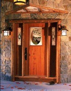 Yankee Barn Custom Front Door