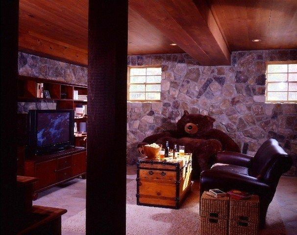 Media Room by Yan kee Barn Homes