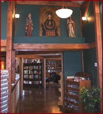"""This one wins the award for """"Best Alternative Use of the Post & Beam"""". It's an abbey (read: church) in Southern CA! How Devine!!!"""