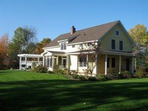 timber framebarn home