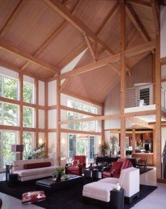 Cantilevered Interior Deck