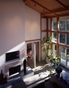 Interior Pivoting Wall