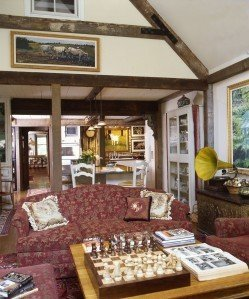 French Provincial Barn Home