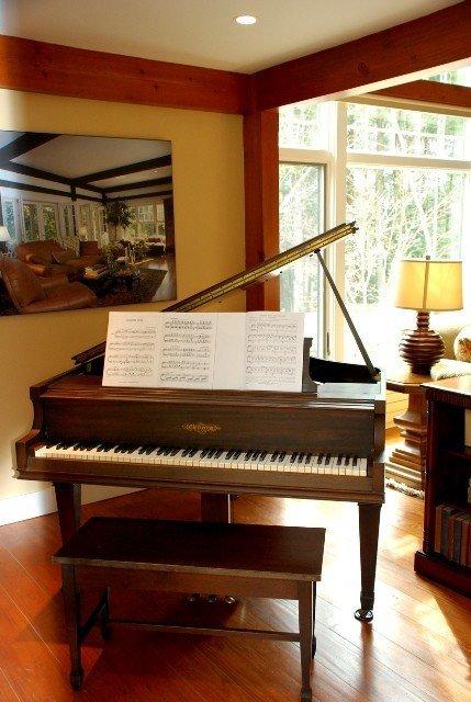 Timber Frame Music Room