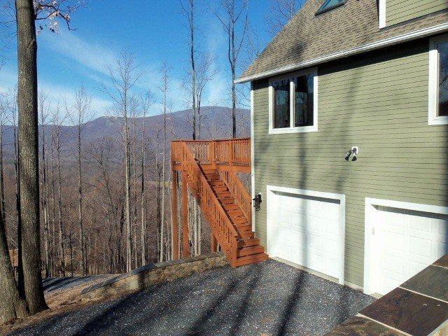 Blue Ridge Mountains Yankee Barn Home
