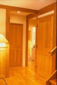 Douglas fir interior doors