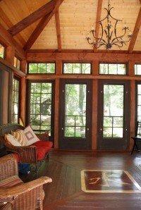 An interior shot of our tea house.