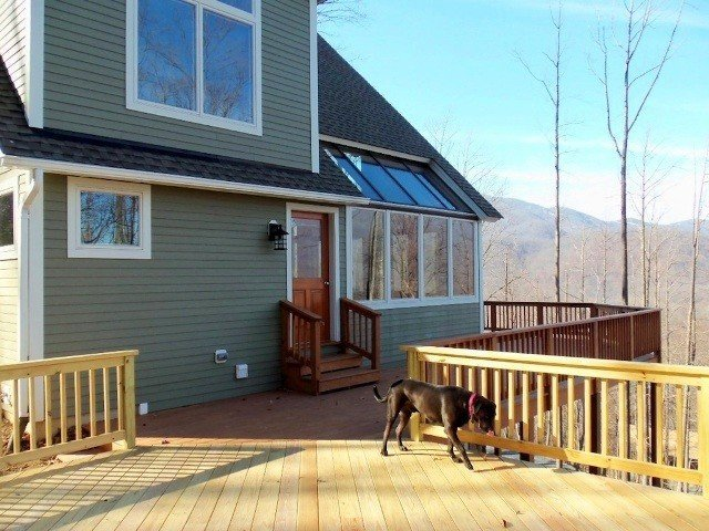 Mountain Style Post & Beam Yankee Barn Homes