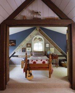 Barn Home bedroom