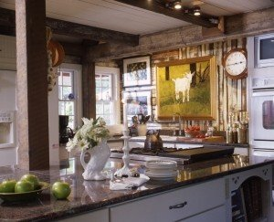 French Country Post & Beam