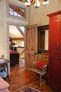 Post and Beam Interior Door