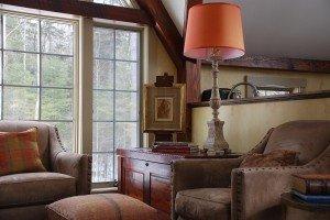 Post & Beam Living Room
