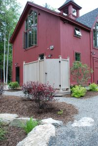 Carriage House Outdoor Shower