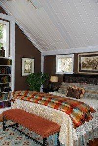 Yankee Barn Model House Master Bedroom