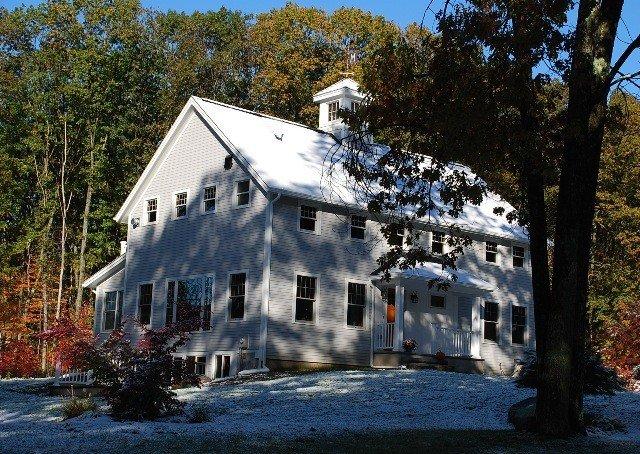 Gable End of a Yankee Barn Home