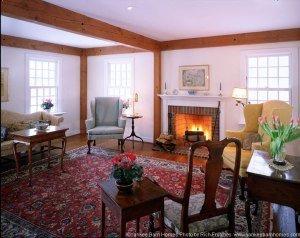 Timber Frame Room by Yankee Barn
