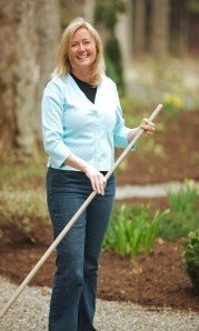 Terri Wilcox of Terri Wilcox Garden Design located in Wilmot, NH