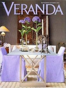 Veranda is one of my favorite decor magazines.