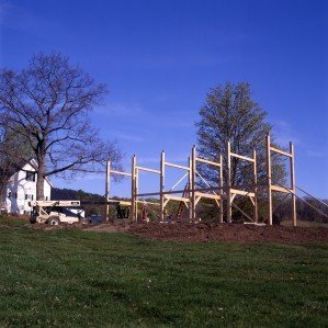 Post and Beam Barn