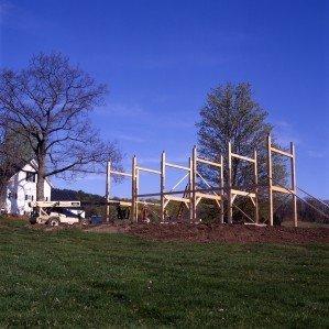 YBH Barn Construction 1