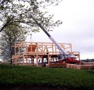 YBH Barn Construction 3
