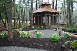 BeamBabe's Zen Garden; designed and put in by Terri Wilcox.