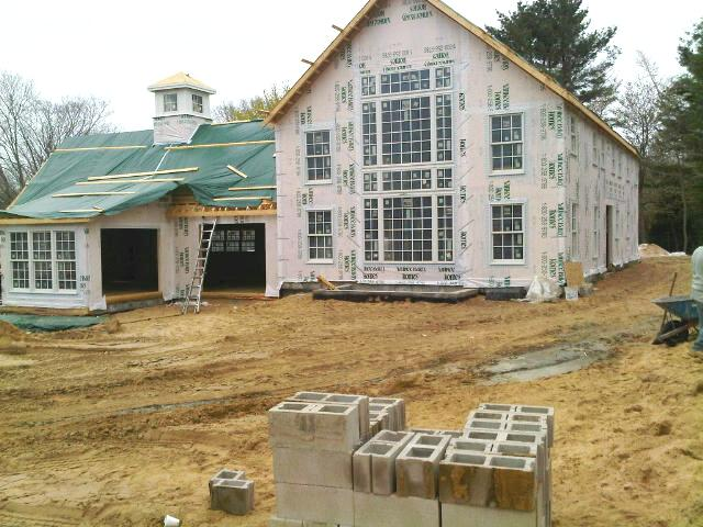 Yankee Barn Homes East Hampton Construction
