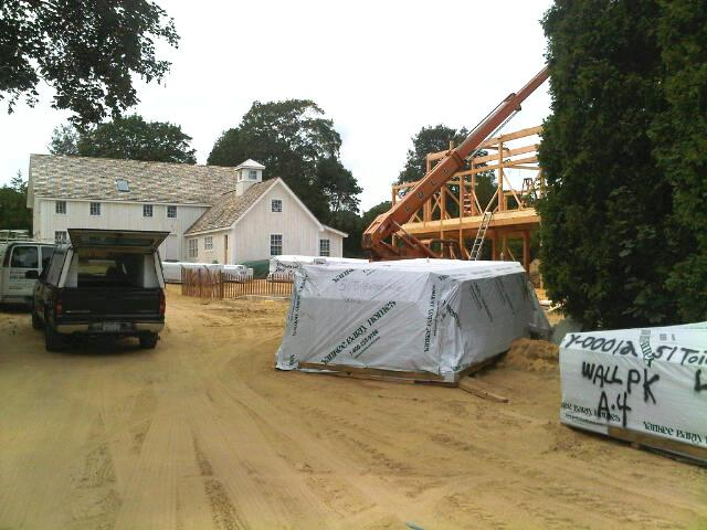 Two Yankee Barn Homes in East Hampton Sit Side by Side