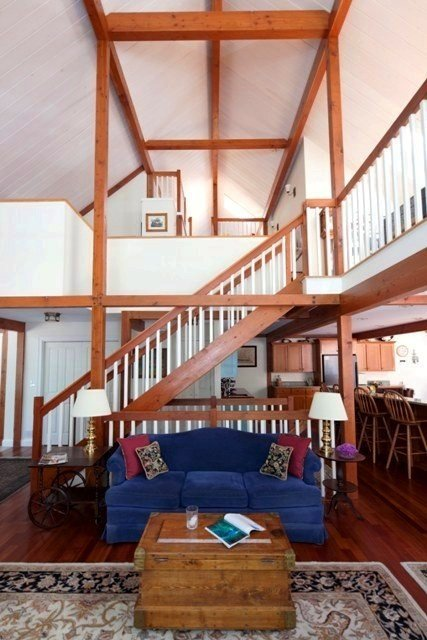 TImber Frame Barn Home by Yankee Barn Homes