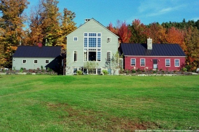 Post & Beam Addition Yankee Barn Homes