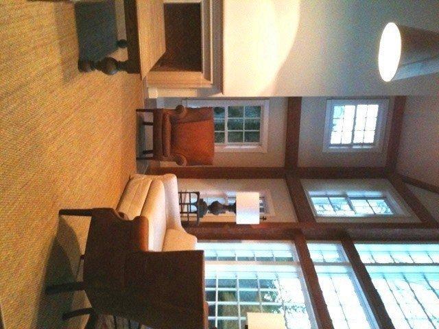 East Hampton Yankee Barn Homes Great Room