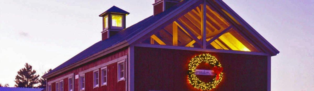 Yankee Barn Homes: Comfort And Joy