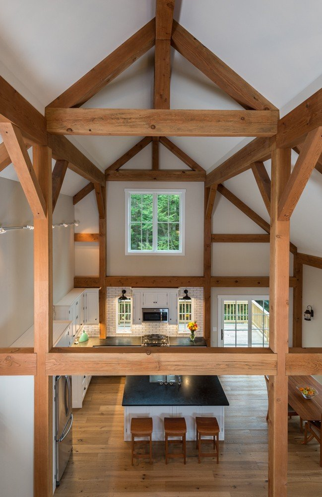 Great Room Vaulted Ceiling
