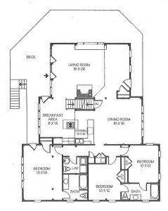 Carter Beach Home Floor Plan