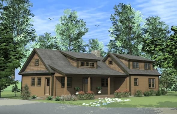 Small Barn House