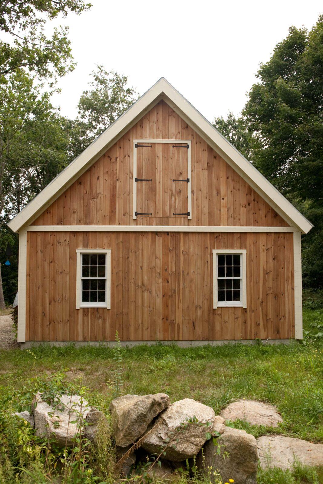 Timber Frame Barn Home - Custom Barn Floor Plan Designs