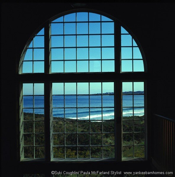 Post and beam ocean home views