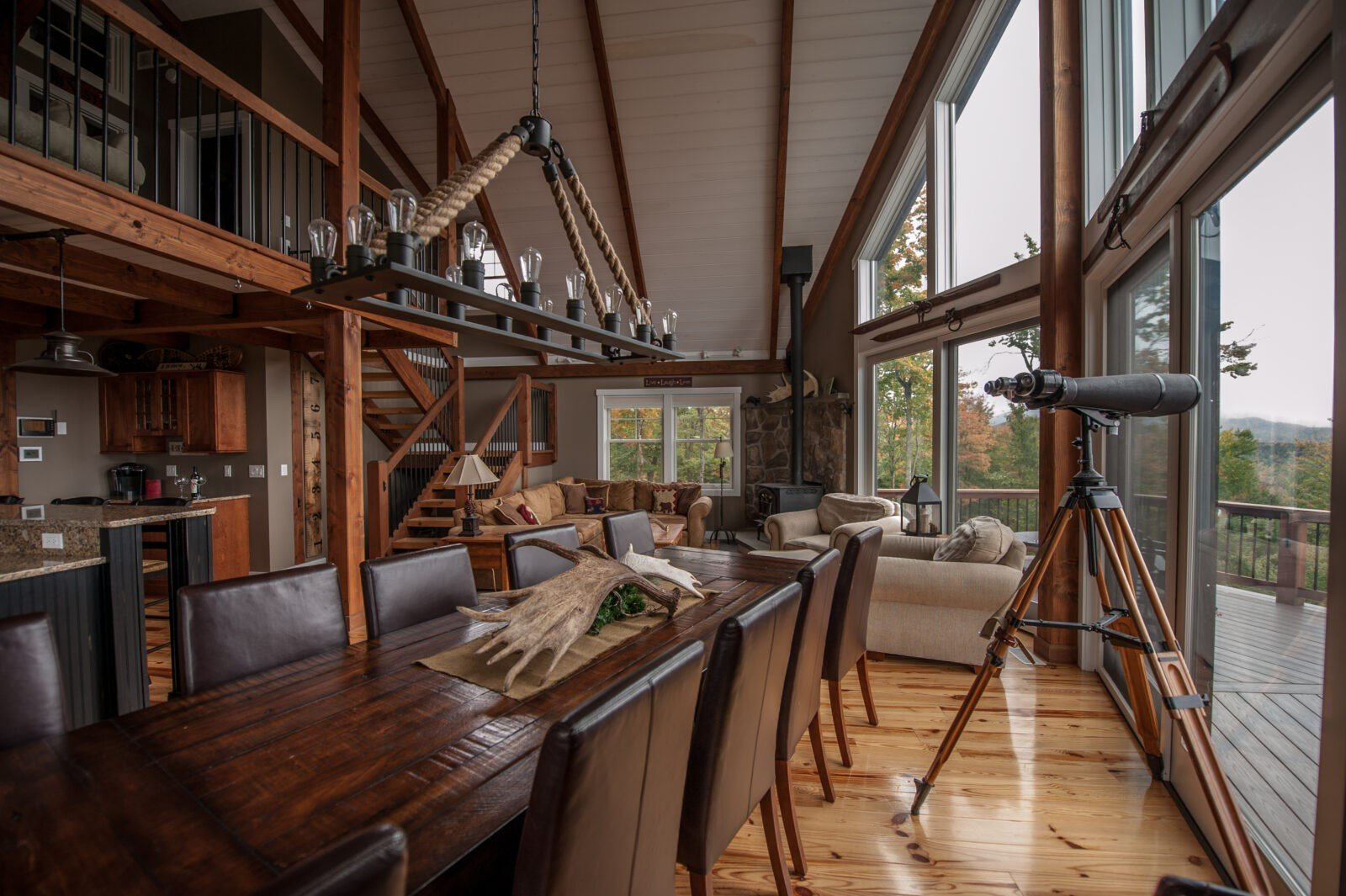 Moose Ridge Mountain Lodge - Photography by Stefanie Martin of Northpeak Design