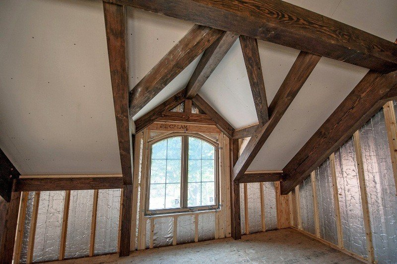 Gorgeous Post and Beam Architecture