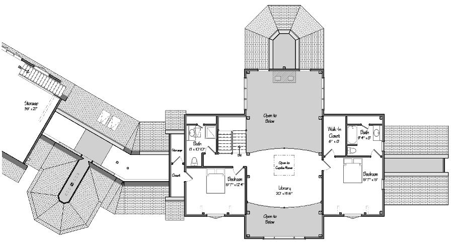 The Ironwood Level Two Floor Plan