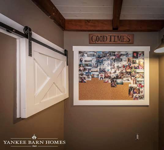 Small Interior Single Barn Door